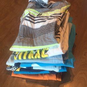 Lot of 10 shirts